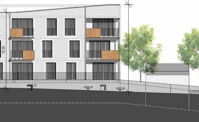 Süd-Ost Ansicht Haus 1+2